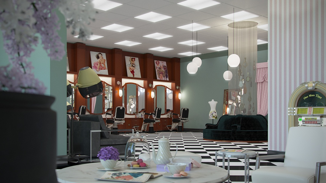 Retro Beauty Shop Since 1950